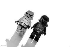 Black and White in B&W ;) (nicoheinrich86) Tags: starwars lego bw macromondays macro plastic pov pointofview white contrast
