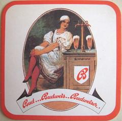 Budvar beermat, 1970s
