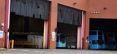 AdBlue tank at the entrance of National Express' Coventry Garage (paulburr73) Tags: adblue coventry nxc garage busdepot 2170 buses bus singledecker doubledecker cv wt wheatleystreet hillfields nationalexpress nox nitrogen oxides emissions def dieselexhaustfluid volvo b7rle wrighteclipseurban 2017 february