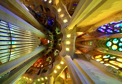 Happy Sunday! / Sagrada Familia, Barcelona, Spain (Frans.Sellies) Tags: img66533stitch barcelona spain catalonia catalunya