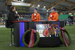 NOS Studio Sport studio @ Vikingskipet Hamar (alexknip) Tags: studiosport nosstudiosport hamar henryschut ireenwust svenkramer