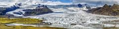 Fjallsárlón No. 3, Iceland (dejott1708) Tags: iceland ísland fjallsárlón panorama landscape glacier lake ice mountains