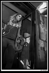 fallowfield5 (The_Jon_M) Tags: road street uk england urban woman bus students girl manchester student women candid may teen greater fallowfield wilmslowroad wilmslow greatermanchester 2013