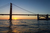 Just Another GGB Sunrise (LifeLover4) Tags: ggb goldengatebridge ftpoint sunrise t2i 550d efs1755mmf28isusm stickneydesign ggnra boat alcatraz sanfrancisco california circularpolarizer lifelover4 contrejour bridge architecture structure water arima hughstickney span