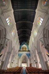 St-Andrew Cathedral (StphaneJ) Tags: architecture singapore cathedral religion hdr standrew standrewcathedral