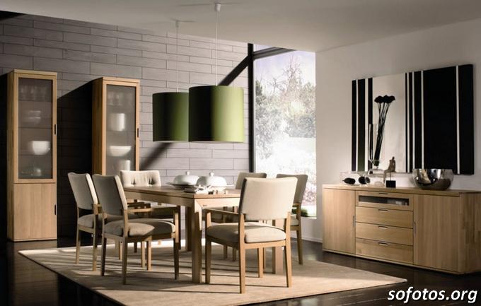 Salas de jantar decoradas (20)
