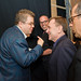 Patton Oswalt, Colin Quinn and Jerry Seinfeld at the 17th Annual Webby Awards