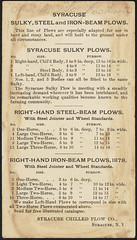 Syracuse Chilled Plow Co., Syracuse, N. Y. (back) (Boston Public Library) Tags: boats angels plows advertisingcards