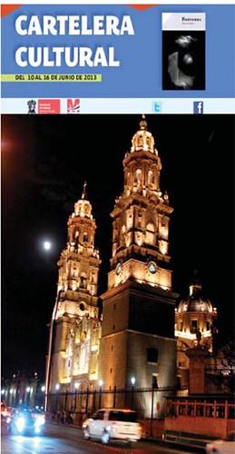 Cartelera Cultural DEL 10 AL 16 DE JUNIO DE 2013