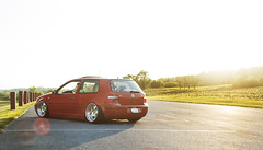 Mason's GTI on VIP Modular (Anthony Feliciano) Tags: sunset vacation vw volkswagen air low modular vip tropic gti stance scrape dumped bagged sunflair vwlife