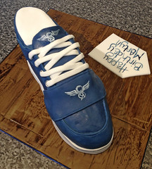 Trainer Shoe Cake Front