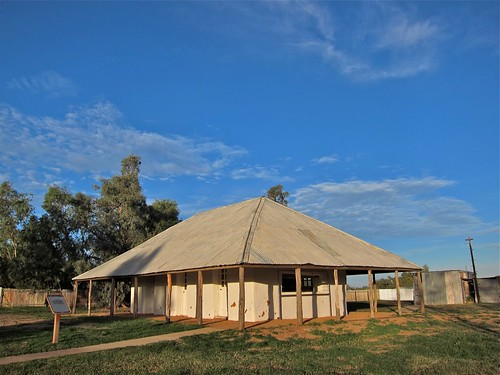 Mud Hut.  Bedourie, QLD, Australia