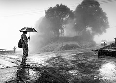 The long wait (Motographer) Tags: bw mist rain fog honda wideangle monsoon motorcycle tamilnadu westernghats pollachi valparai cbr250r motography motographer tokina1116mmf28 tokinaatx1116mmf28dx fotografikartz motograffer