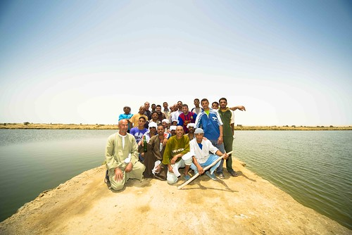 Farmers group at Rayan in Fayoum, Egypt. Photo by Heba El Begawi, 2013.