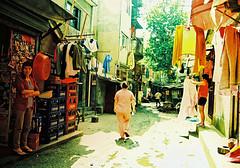 Alley (Roon & Beks) Tags: china colour eos xpro cross shanghai kodak chrome elite process 630 extra