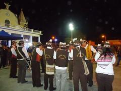 Grupo Wayra Ayllu en frontis de la Iglesia de La Tirana