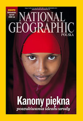 Cover of National Geographic Poland August 2013 (Eric Lafforgue) Tags: woman muslim national cover somalia somaliland lafforgue geogrpahic