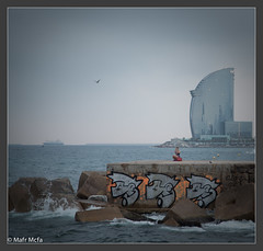 27072013-Mafrmcfa-02514.jpg (Mafr-Mcfa) Tags: barcelona espaa mar agua europa mediterraneo amanecer cielo cemento nube roca catalua dados continente comunidadesautnomasprovincias localizacionesdelmundo