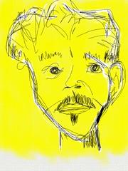 iPad Drawing #53 (Todd Brown - Winnipeg Calgary Vancouver) Tags: calgary art vancouver sketch artist winnipeg bc drawing canadian leon ipad dogdayafternoon toddbrown
