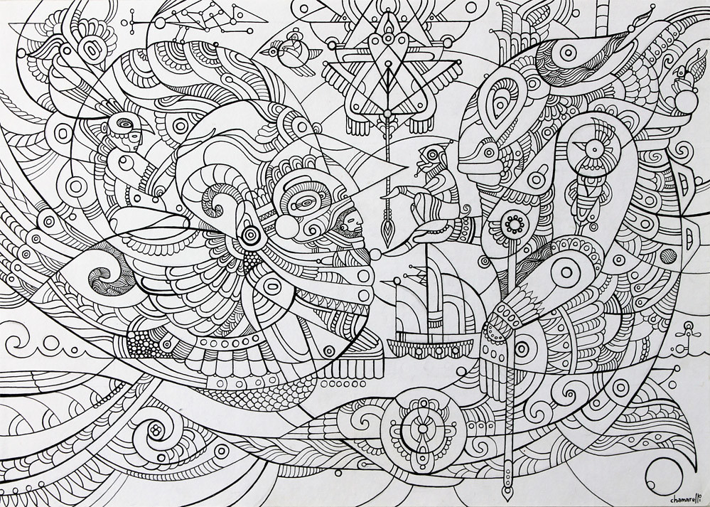 The world 39 s newest photos of arte and aztec flickr hive mind for Aztec mural tattoos