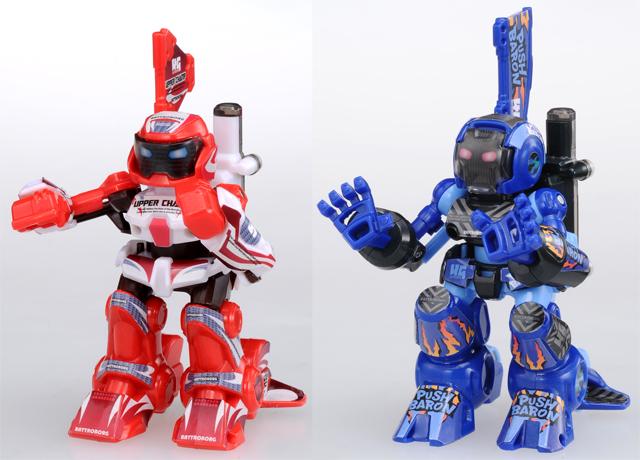 "TakaraTomy ""鋼鐵拳擊手4G""全新升級!「紅色昇龍拳」&「藍色百烈掌」"