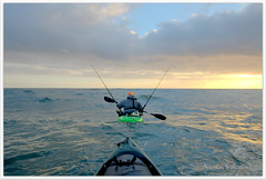Follow your dream (Nicolas Valentin) Tags: uk blue sea fish cold nature water clouds landscape freedom scotland fishing bravo scenery kayak scenic ecosse kayakfishing abigfave aplusphoto kayakscotland