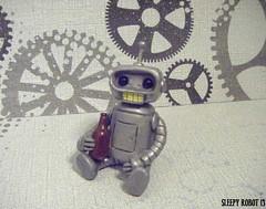 Bender Robot (Sleepy Robot 13) Tags: cute robot diy handmade robots polymerclay fimo comicbook kawaii sculpey etsy urbanvinyl marvel sculpting smallbusiness sleepyrobot13 polymerclayurbanvinylsleepyrobot13etsysilvercraftcraftscraftingsculptingsculpturefigurinearthandmadecraftshowcutekawaiirobots