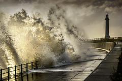 Seaburn Promenade, Sunderland (DM Allan) Tags: stormy northsea sunderland seaburn wearside wearmouth