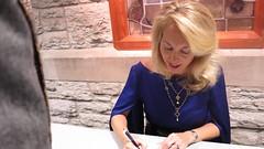 Valerie Plame Wilson signing books