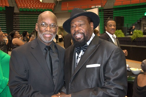 Clinton Byrd Meets Up with George Clinton (the Atomic Dog Himself) -:- 0309