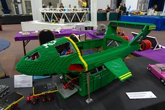 Time Machine // GWLS 2012 (bluemoose) Tags: show history lego display models exhibition steam past 2012 mocs gwls