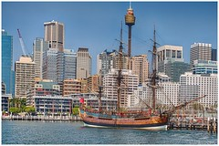 Ship ahoy! (Thunder1203) Tags: water boats marine harbour ships sydney darlingharbour tall tallships