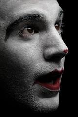 Clown (GelaKipiani) Tags: portrait fun key low