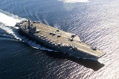 เหตุการณ์ในซีเรียเริ่มตึงเครียด ล่าสุด สหรัฐฯ ส่งเรือรบ ยูเอสเอส นิมิตซ์ เข้าจำประการทะเลอาระเบีย และทะเลแดงเพิ่ม  รอถล่มแล้ว -