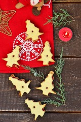 Christmas cookies (Zoryanchik) Tags: christmas winter food holiday cookies dessert baking advent traditional rustic decoration gingerbread homemade