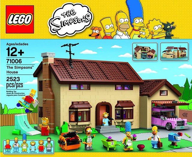 Lego - 71006 The Simpsons House 辛普森的家