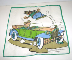 IL CORRIERE DEI PICCOLI 70s fazzoletto  - handkerchief (THE MYCIA COLLECTION) Tags: magazine clothing comic handkerchief tissu fumetto giornale fazzoletto corrieredeipiccoli