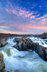 20140119 GreatFalls Va 020 (Dan_Girard_Photography) Tags: nature sunrise landscape va potomacriver waterscape 2014 greatfallswaterfalls dangirardphotography