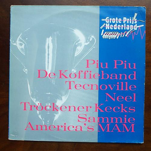 De Grote Prijs van Nederland 1984 - Piu Piu, De Koffieband, Tecnoville, Neel, Trockener Kecks, Sammie America's MAM