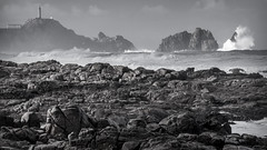 Faro do Cabo Vilan (David Gozofellos) Tags: espaa praia public faro cabo flickr galicia temporal vilan camparias