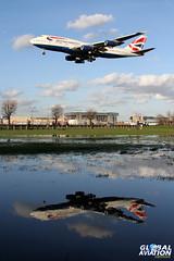 G-CIVR - Boeing 747-436 - British Airways (KarlADrage) Tags: ba britishairways 747 jumbo lhr egll gcivr runway27l