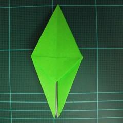 วิธีพับกระดาษเป็นจรวด X-WING สตาร์วอร์ (Origami X-WING) 020