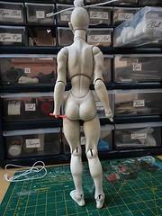 DSC01976 (illuminateddoll) Tags: sculpture doll artist wip bjd