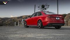 Audi B8 S4 on VSE-002 (Vorsteiner) Tags: 5 spoke wheels split awe a4 audi tuning forged matte 002 s4 brushed gunmetal vse b8 vse002