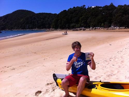 newzealand kayak anchorage kiwi aotearoa abeltasman waterproofwallet jeffmash
