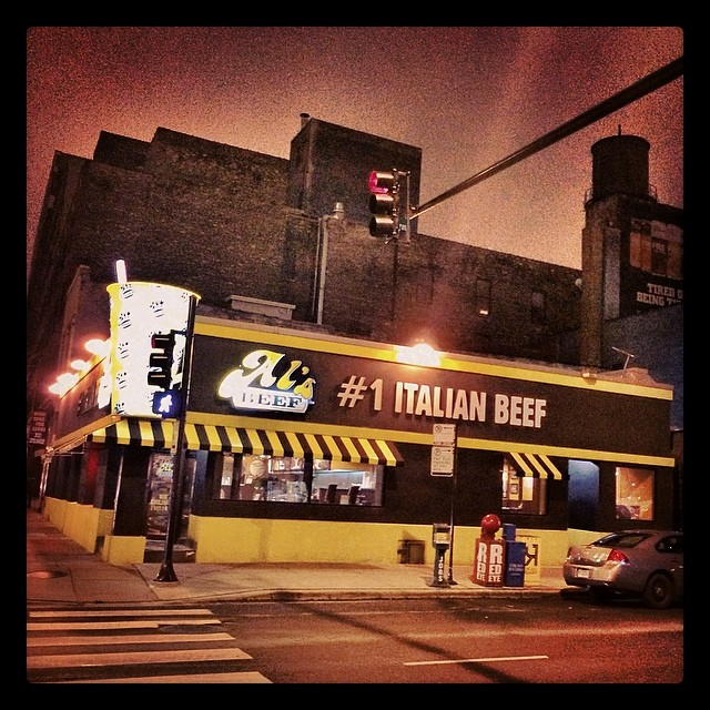 Where it all started. Don't be confused by the beef business, this is where (at least according to google maps) #thewarehouse used to be located and #housemusic was born. So much of the #2014music scene owes itself to #frankieknuckles and #jessesaunders a