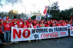 MARCHA POR LA DIGNIDAD MADRID  9411 22-3-2014 (Jose Javier Martin Espartosa) Tags: madrid espaa spain cocacola marchaporladignidad manifestacion22m trabajadoresdecocacola cococolalachispadelamuerte menospalabritasymasdinamita