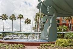 Two Dolphins (Ray Horwath) Tags: fountain nikon dolphin disney disneyworld wdw waltdisneyworld tamron horwath disneyresorts tamronlens dolphinresort d700 disneyphotos rayhorwath tamron28mm300mmlens disneysdolphinresort