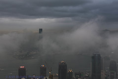 Clouds in Hong Kong (Keith Mulcahy) Tags: city mountains weather clouds canon hongkong central storms kowloon cit cloudsstormssunsetssunrises keithmulcahy blackcygnusphotography ppa7a0 ppd56c