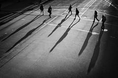 >> >< << (. Jianwei .) Tags: street morning light shadow urban lines vancouver sony strangers six waterfrontstation nex kemily nex6